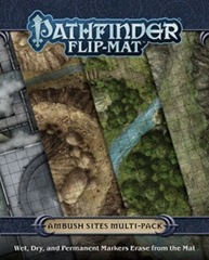 Pathfinder Flip-Mat - Ambush Sites Multi-Pack 30101