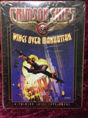 Crimson Skies Wings Over Manhattan Supplement FASA