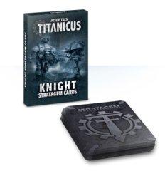 Adeptus Titanicus - Knight Stratagem Cards