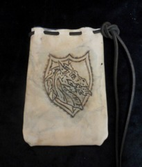 Nathan's Leatherworks Dragon Dice Bag NLB-05 (7
