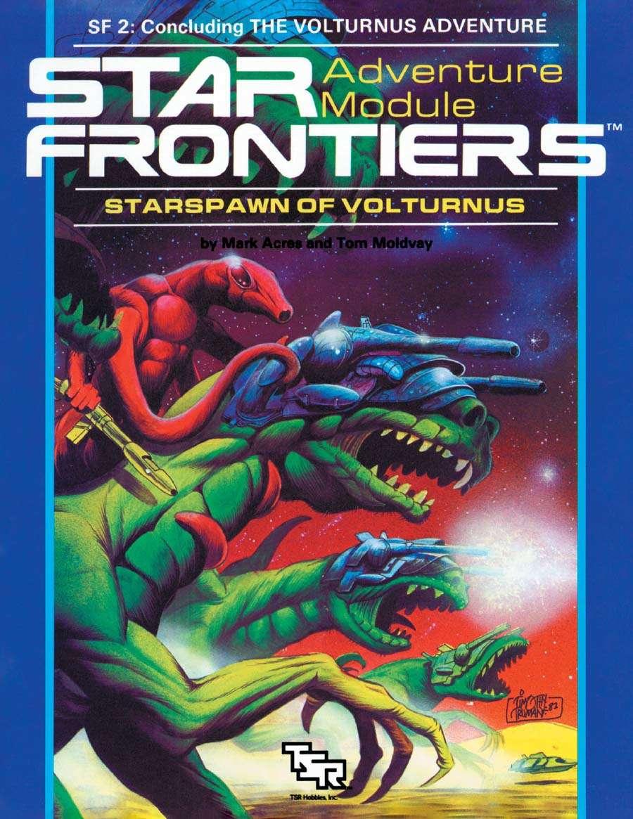 Star Frontiers SF2 - Starspawn of Volturnus 7802