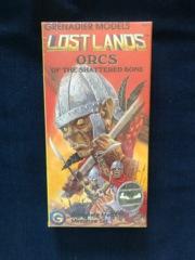 Grenadier Lost Lands Orcs of the Shattered Bone Metal Miniatures Set #3001 Sealed