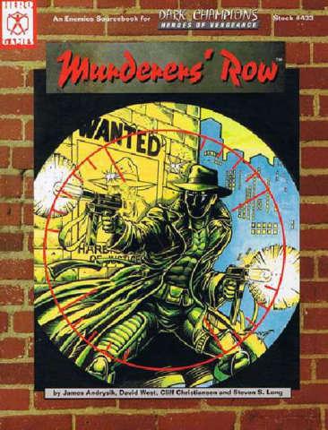 Dark Champions - Murderers' Row 1300