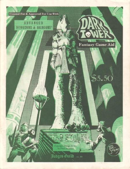 AD&D Dark Tower  Judges Guild #JG88