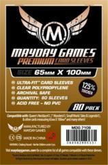 Mayday Premium 100 Sleeves (65x100) Clear 7106