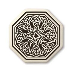 Celtic Knotwork Octagon Pendant