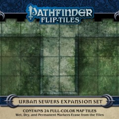 Pathfinder Flip-tiles - Urban Sewers Expansion