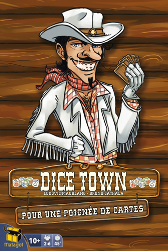 Dice Town - A Fistful of Cards Expansion