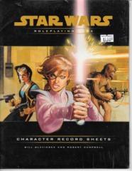 Star Wars RPG Character Record Sheets
