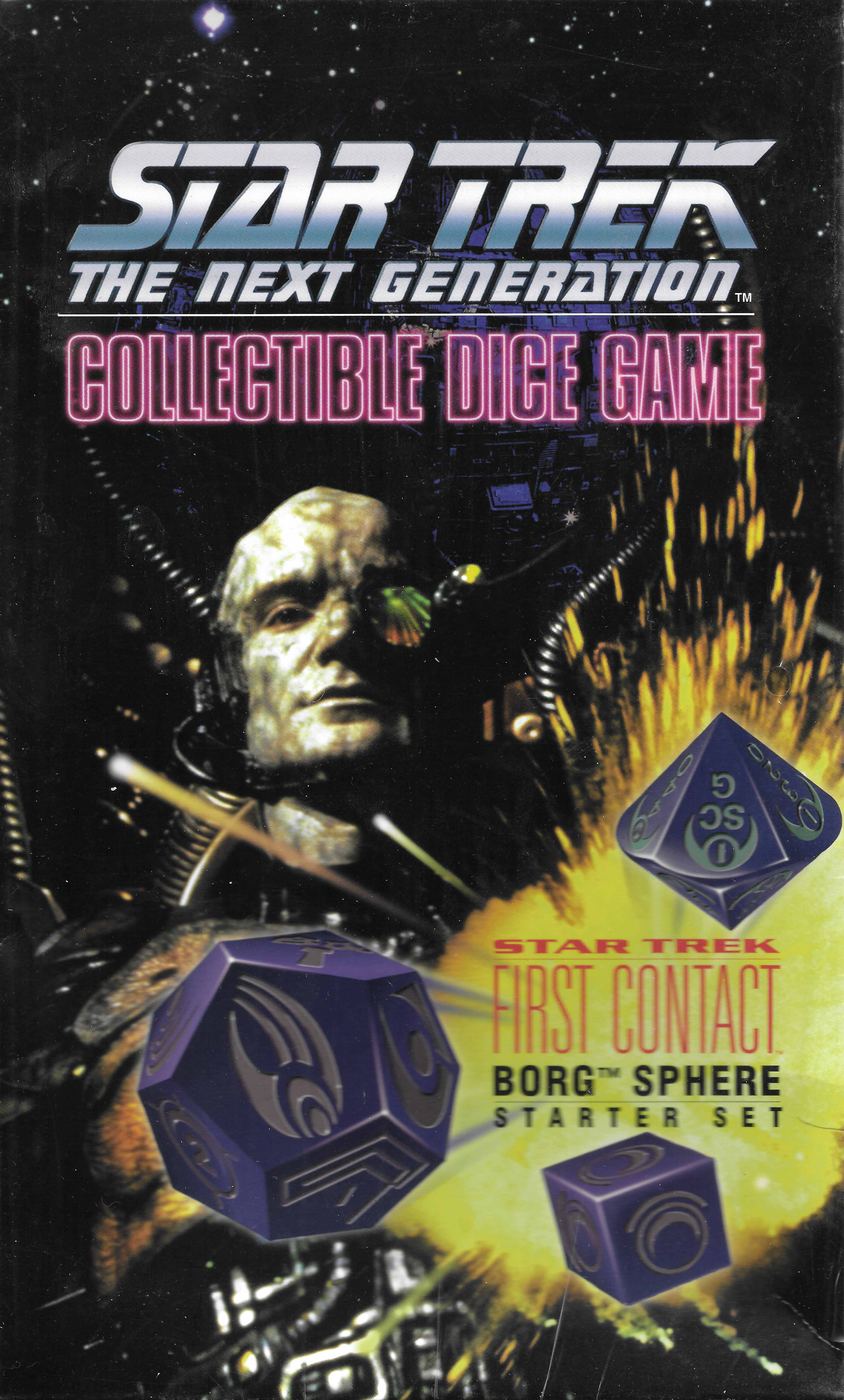 Star Trek Collectible Dice Game: Borg Sphere Starter