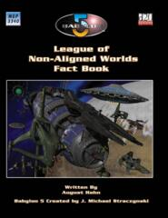 Babylon 5 RPG League of Non-Aligned Worlds Fact Book 1st Edition MGP3340
