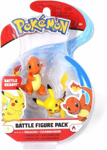 WCT Pokemon Battle Figure Pack - Pikachu + Charmander
