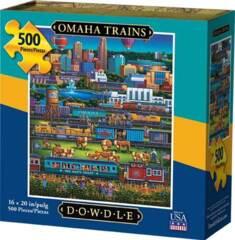 500pc - Omaha Trains