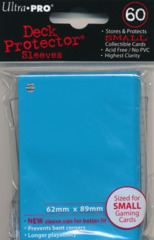 Ultra Pro Small Sleeves Light Blue 60 Ct.