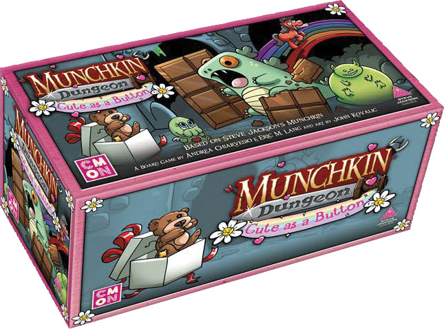 MKD004 - Munchkin Dungeon: Cute As A Button