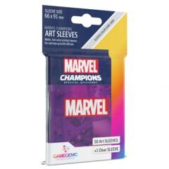 G10108 - Marvel Champions Art Sleeves - Marvel Purple