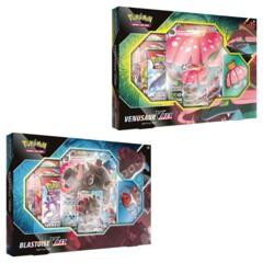 Battle Styles  Blastoise/ Venusaur V Max Battle Box