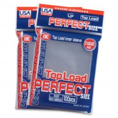 KMC Standard Top Load Perfect Size Sleeves (100ct)