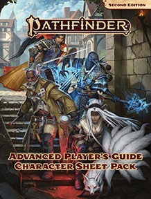 Pathfinder 2E - Advanced Players Guide Character Sheet Pack 2220