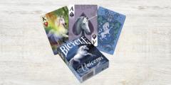 Bicycle Playing Cards - Unicorns