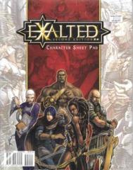 Exalted 2E: Character Sheet Pad 80700