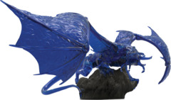 D&D Icons of the Realms - Sapphire Dragon Premium Figure