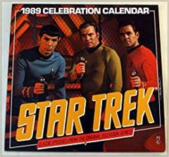 Star Trek 1989 Calendar