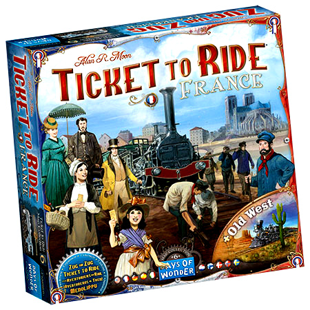 DO7228 - Ticket To Ride: Map Collection V6 - France and Old West