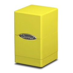 Ultra Pro Satin Tower Deck Box - Yellow