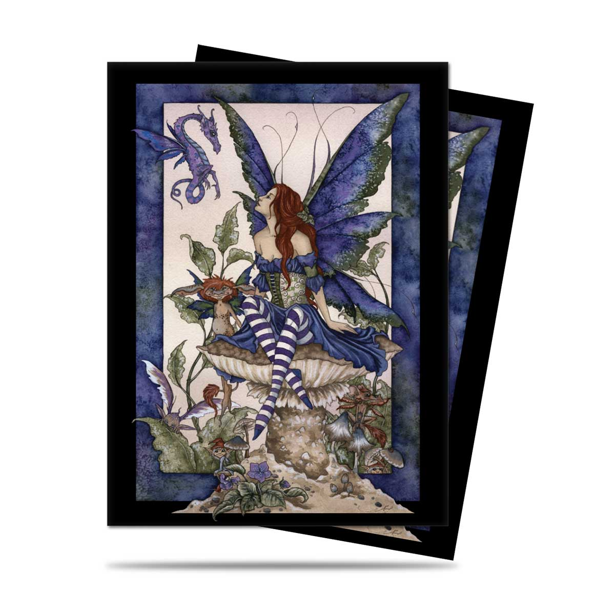 Ultra Pro Sleeves (100) - Amy Brown Garden