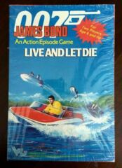 James Bond 007 Live and Let Die Action Episode Game 2-Player Victory Games, Inc.