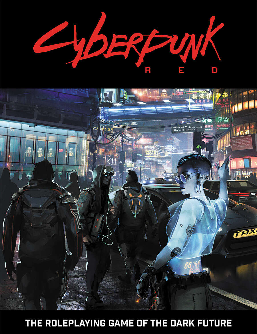 Cyberpunk Red RPG Game Manual