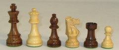 Chess Pieces 3.75 French Sheesham 1001SF375