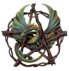 Pacific 8084  Forest Pentagram - Dragon