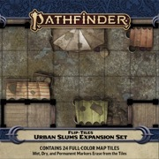 Pathfinder Flip-Tiles - Urban Slums Expansion Set