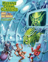 Mutant Crawl Classics #1 - Hive of the Overmind