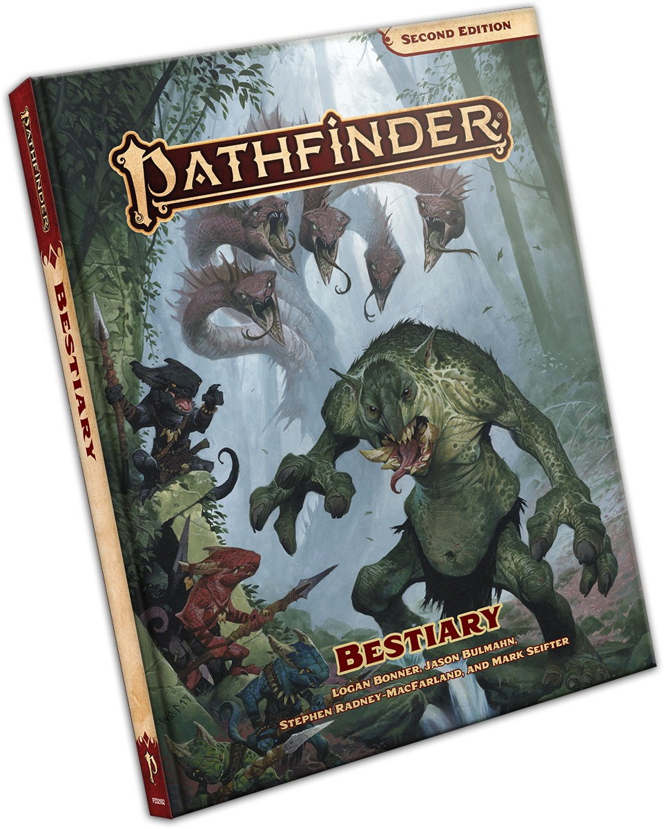 Pathfinder 2E - Bestiary Pocket Edition 2102-PE