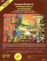AD&D C1 - The Hidden Shrine of Tamoachan 9032 (1981 Cover)