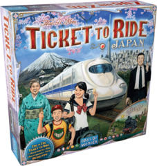 DO7232 - Ticket To Ride: Map Collection V7 - Japan and Italy