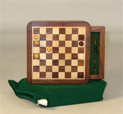 5'' Wood Magnetic Chess