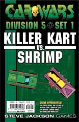 Car Wars - Division 5 Set 1 - Killer Kart vs. Shrimp