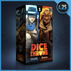 Dice Throne - Gunslinger v Samurai