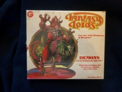 Grenadier Fantasy Lords Demons Nightmares of the Pit 25mm Metal Figures Set #6006 Sealed