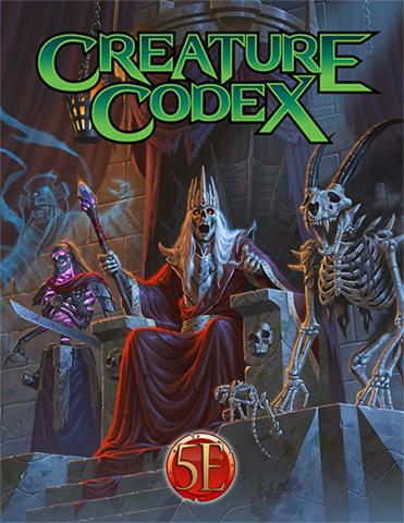 5E Creature Codex