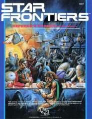 Star Frontiers - Referee's Screen and Mini-Module 6801