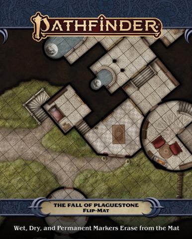 Pathfinder Flip-Mat - The Fall of Plaguestone