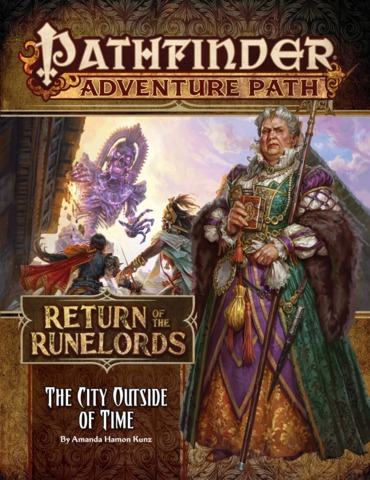 Pathfinder Adventure Path 137 - The City Outside of Time 90137