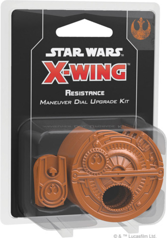 FFG SWZ21 - Star Wars X-Wing (2e) - Resistance Maneuver Dial Upgrade Kit
