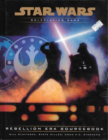Star Wars Rebellion Era Sourcebook