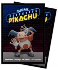 65 ct Deck Protector Sleeves - Mr. Mime